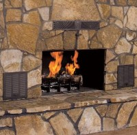 "High Quality 37"" Country Flame Smart Fireplace"