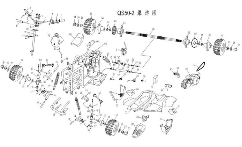 110cc atv engine diagram of organs and ribs 50cc great installation wiring tech diagrams rh saferwholesale com chinese