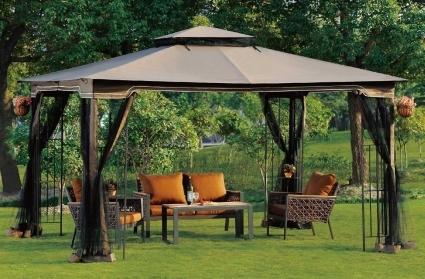high quality 10x12 ez pop up tent instant patio gazebo canopy shade w mosquito netting