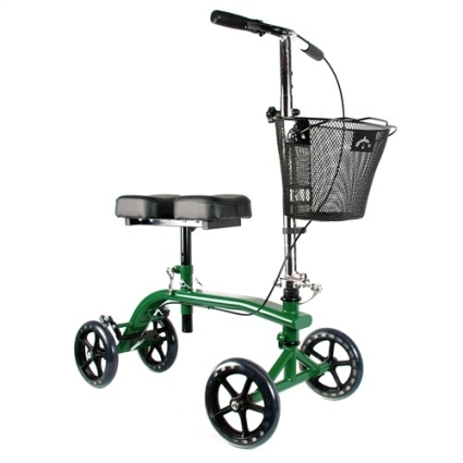 Brand New High Quality Green Knee Rollator Walker Scooter