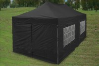 Black 10' x 20' Pop Up Canopy Party Tent