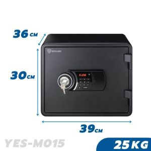 25 KG Fireproof Home Business Safe Box YES-M015