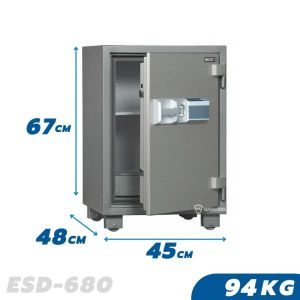 94KG Fireproof Home & Business Safe Box ESD-680