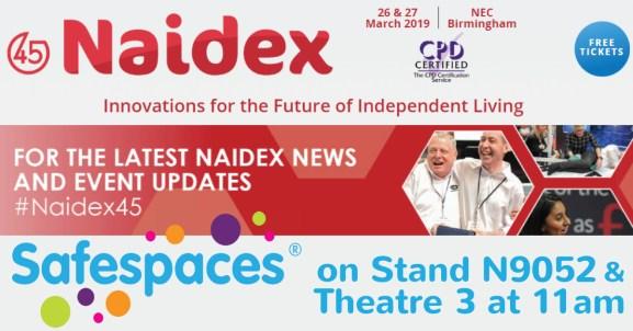 Safespaces at Naidex 2019
