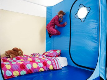 child jumping in Safespace 1