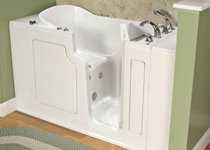 WalkIn Bathtubs for Seniors  Safe Step Tub