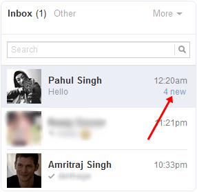 Facebook message unread after hide seen