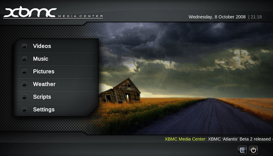 XBMC Player for PC