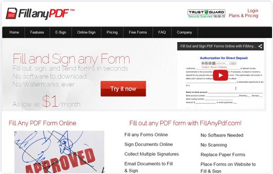 Fillanypdf.com online PDF File editor