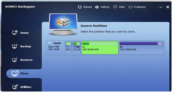 AOMEI Backupper PC Software