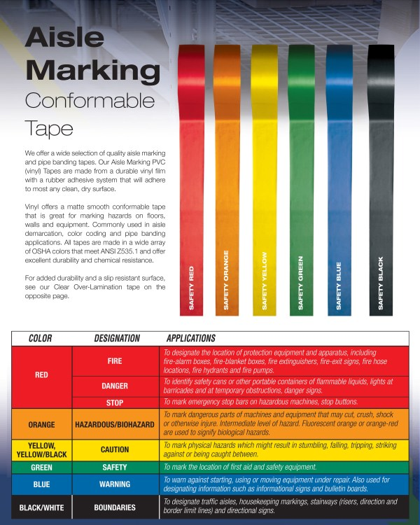 5s Floor Marking Tape Color Standards Carpet Vidalondon