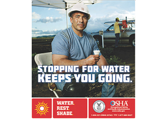 OSHA campaign aims to help outdoor workers beat the heat