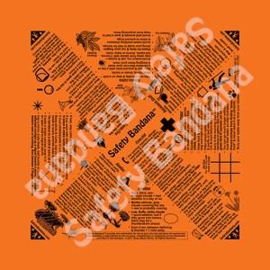 Safety Bandana Orange