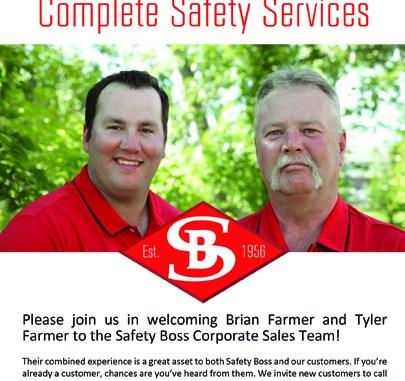 Welcome Tyler Farmer and Brian Farmer