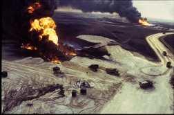 Kuwait oil fires 00204