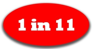 1in11