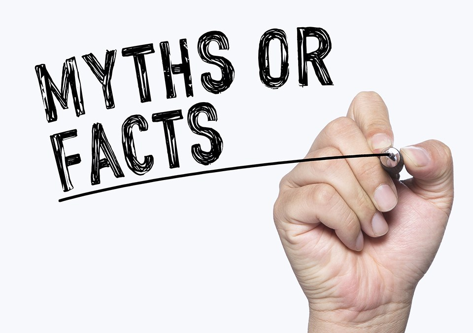 Myth or Facts sign
