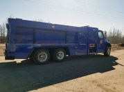 Louis Bull Control Burn and New UHP Fire Truck Delivery