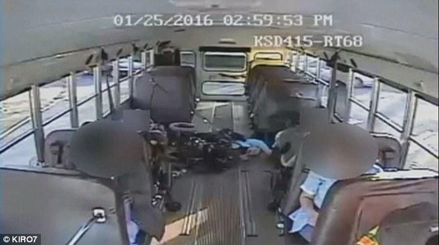 bus cam wheelchair tip over