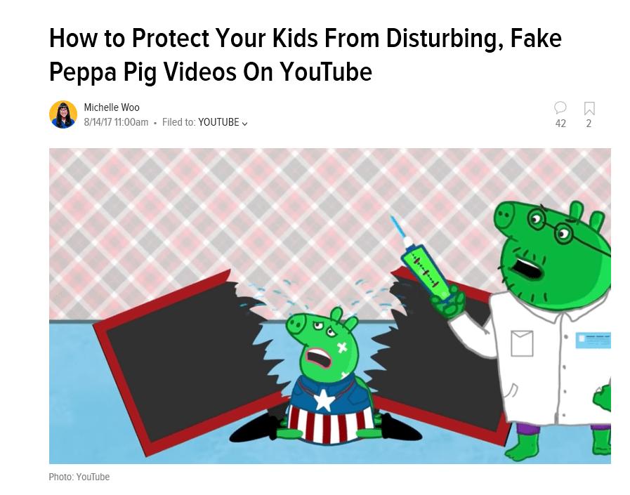 YouTube's Darker Side