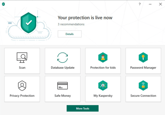 """<a href=""""https://www.safetydetectives.com/go/vendor/free/202/?post_id=320&alooma_btn_name=Affiliate+Link+-+27528"""" title=""""Kaspersky"""" rel=""""nofollow noopener"""" target=""""_blank"""" data-btn-name=""""Affiliate Link - 27528"""" data-btn-indexed=""""1"""">Kaspersky Security Cloud (Free)</a> — Best for Added Features"""