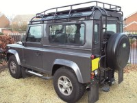 Land Rover Defender Roof Rack | Car Interior Design