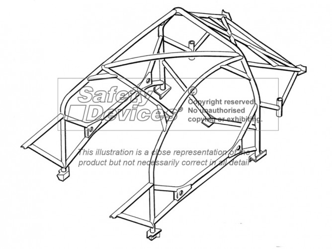 Ford Puma Weld In Roll Cage | Safety Devices