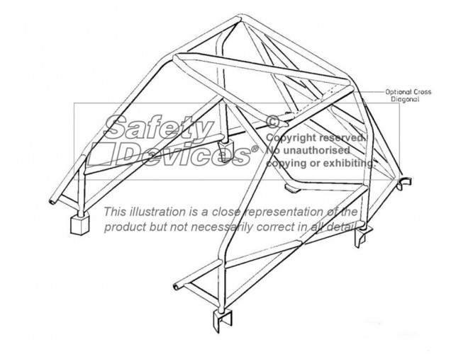 Weld In Roll Cage | Safety Devices