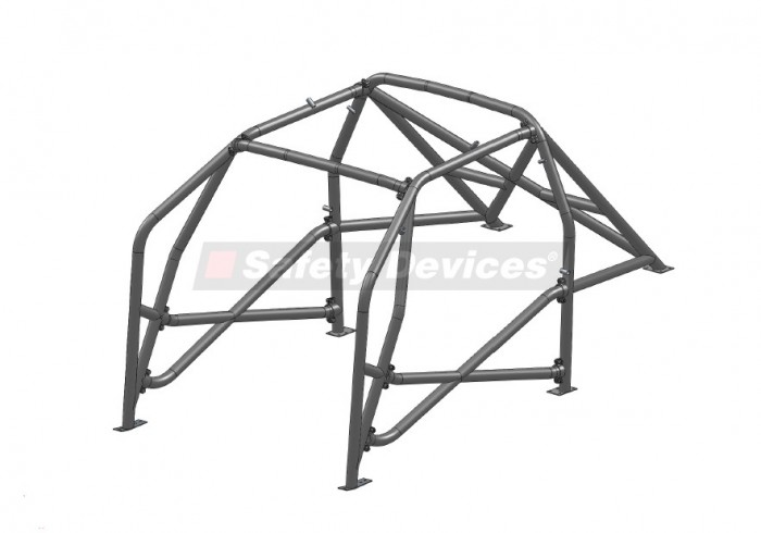 BMW 3 Series E36 Compact Multi Point Bolt-in Roll Cage