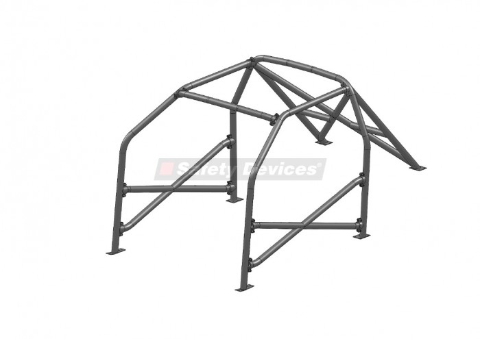 BMW 3 Series E36 Compact 6 Point Bolt-in Roll Cage
