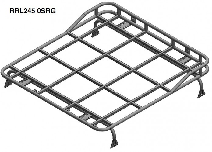 Land Rover Defender 90 Hard Top Roof Rack Gutter Mount