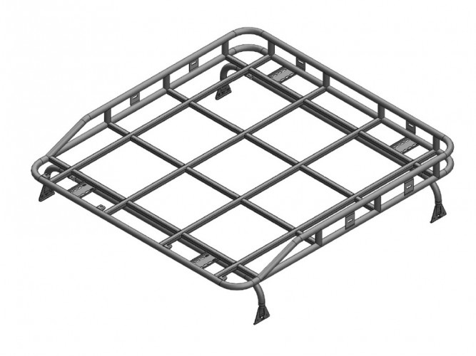 Land Rover Defender 110 Double Cab Roof Rack