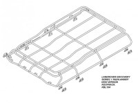 Land Rover Discovery 1 With Roof Rails Roof Rack Gutter ...
