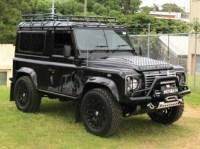 Land Rover Defender 90 Station Wagon Roof Rack Gutter ...