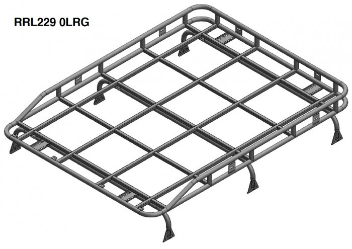 Land Rover Defender 90 Station Wagon Roof Rack Gutter
