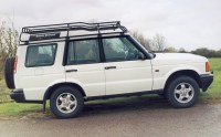 Land Rover Discovery 2 Without Roof Rail Roof Rack Gutter ...