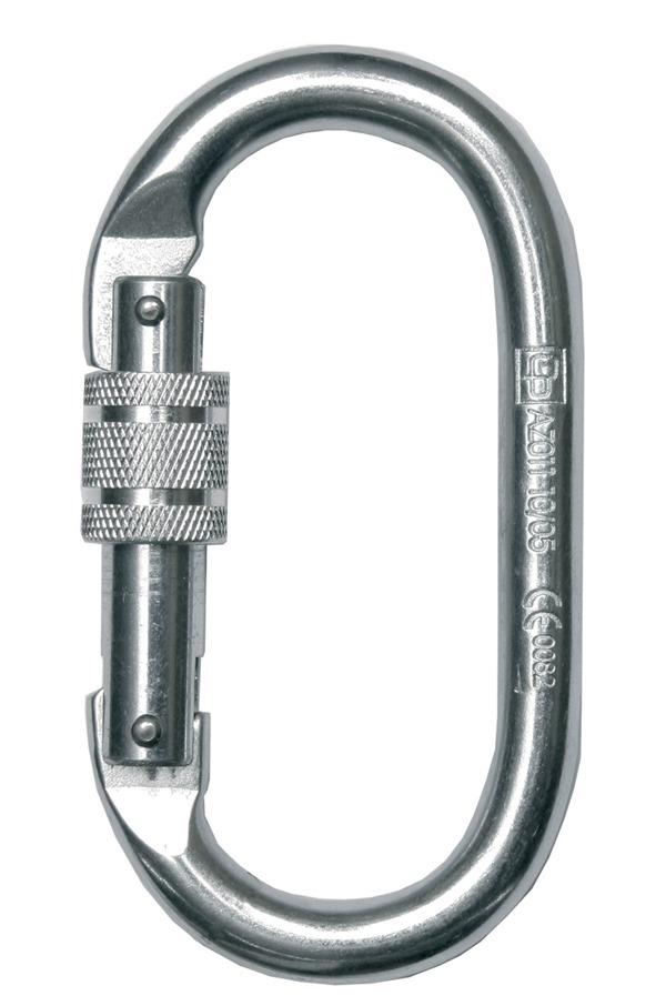 Restraint Lanyard with Karabiner & Scaffold Hook (1m, 1.5m
