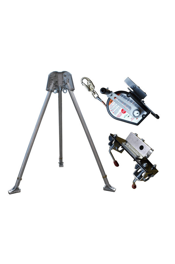 Abtech Safety CST5KIT Confined Space Kit with 30mtr Man