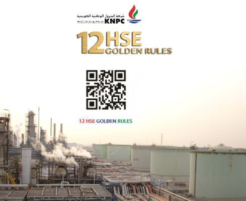 KNPC HSE GOLDEN RULES & HSEMS ELEMENTS