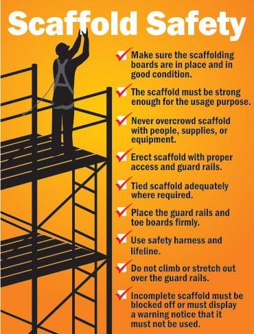 Toolbox Talk – Scaffolding Safety