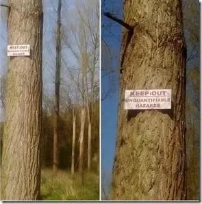 unquantifiable hazards