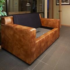 Sofa Gun Safe Ikea Sleeper Manstad Couch Bunker Custom Furniture Bullet Proof Armor
