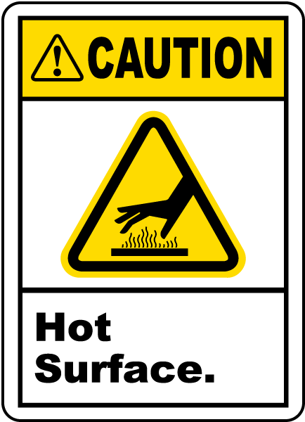Caution Signs for Machines