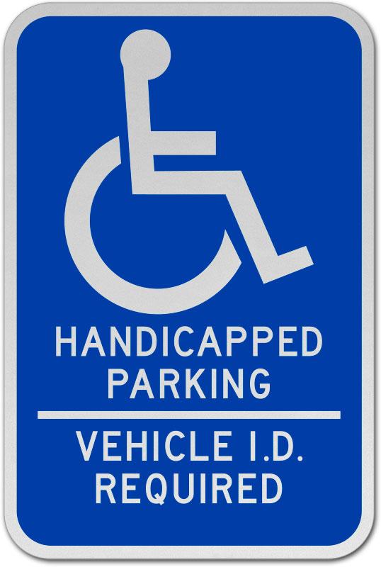 minnesota handicap parking sign
