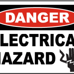 Electrical Panel Hazards 1999 Dodge Durango Radio Wiring Diagram Hazard Signs Osha Ansi Compliant Danger Label