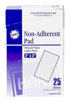 "Hart Health Non Adherent Pad 2""x3"""
