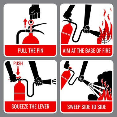 Tips on How to Use a Fire Extinguisher