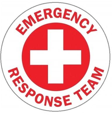 The logo for Emergency Response Team