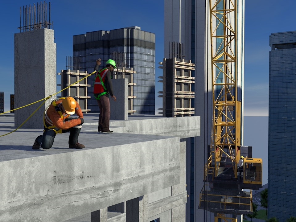 SafetyVantage Fall Protection - Working at Heights
