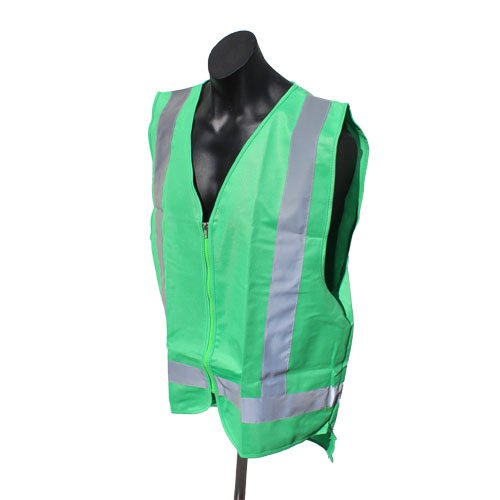 Forest green safety vests
